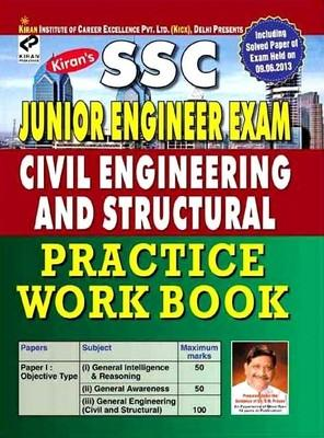 SSC Junior Engineer Exam Civil Engineering And Structural Practice Workbook Including Solved Papers by Think Tank of Kiran Prakashan, KICX, Pratiyogita Kiran