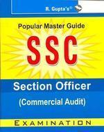 Ssc Section Officer Commercial Audit (English) 01 Edition by RPH Editorial Board