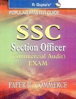 SSC SECTION OFFICER PAPER II COMMERCE (English) by Gupta R