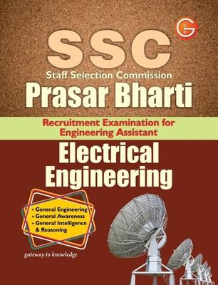 SSC Staff Selection Commission Prasar Bharti Recruitment Examination for Engineering Assistant Electrical Engineering (English) 9th  Edition by G K P