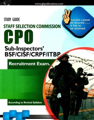 Study Guide Staff Selection Commission CPO Sub-Inspectors