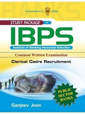 Study Package For IBPS Institute of Banking Personnel Selection: Common Written Examination Clerical Cadre Recruitment (English) 1st  Edition by SANJEEV JOON