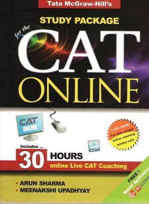 Study Package for the CAT Online (With CD) (English) 1st Edition by Arun Sharma, Meenakshi Upadhyay
