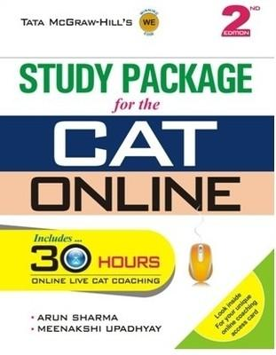 Study package for the CAT Online (with CD) (English) 2nd  Edition by Arun Sharma