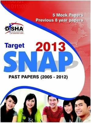 Target -2013 SNAP Past Papers (English) by Disha Experts