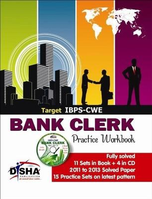 Target IBPS - CWE Bank Clerk Practice Workbook (With CD) (English) 3rd  Edition by Disha Experts