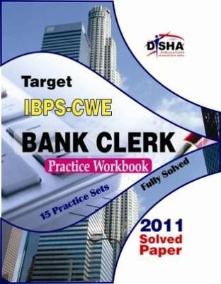 Target IBPS CWE Bank Clerk Practice Workbook: 15 Practice Sets (English) by Disha Experts