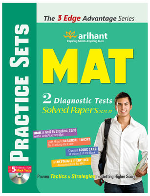 The 3 Edge Advantage Series - MAT Practice Sets (English) by Arihant Experts