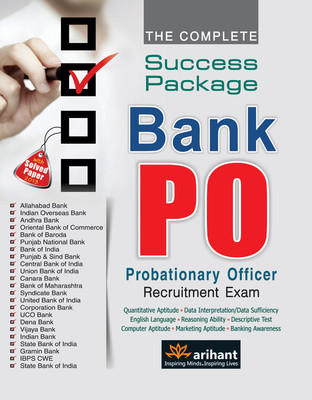 The Complete Success Package Bank PO Recruitment Exam PB (English) 6th  Edition by Anju Agarwal