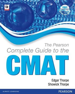 The Pearson Complete Guide to the CMAT(With CD-ROM) (English) 1st  Edition by Thorpe