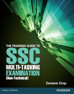 The Pearson Guide to SSC Multi-Tasking Examination (Non- Technical) (English) by Content Crop