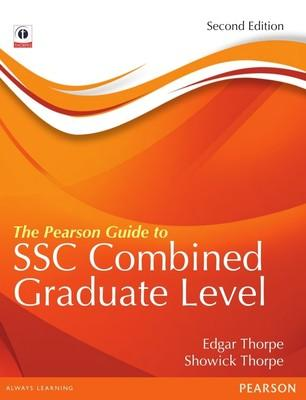 The Pearson Guide to the SSC Combined Graduate Level Preliminary Examination (English) by Showick Thorpe, Edgar Thorpe