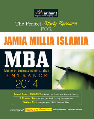 The Perfect Study Resource for - Jamia Millia Islamia MBA Entrance (English) 1st  Edition by Megha Patel, Ashwini Kumar Prasad, Jasika Khera, Diwakar Sharma, Nidhi, Deepali Sharma