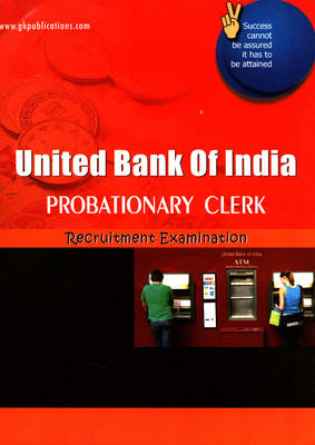 United Bank Of India Probationary Clerk Recruitment Examination (English) by GKP