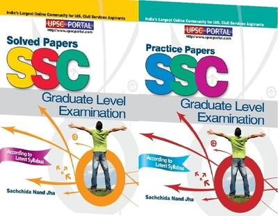 SSC Combined Graduate Level Examination: Solved Papers + Practice Papers (Set of 2 Books) (English) by Sachchida Nand Jha