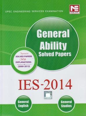 UPSC Engineering Services Examination IES - 2014 General Ability Solved Papers (General English, General Studies) (English) 7th Edition by Made Easy Competition Books