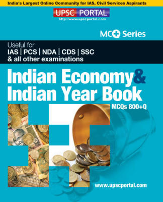 UPSC Portal Indian Economy & Indian Year Book MCQs 800+Q (English) by UPSC Portal