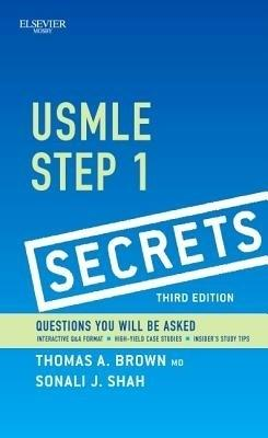 USMLE Step 1 Secrets (English) 3rd  Edition by Brown