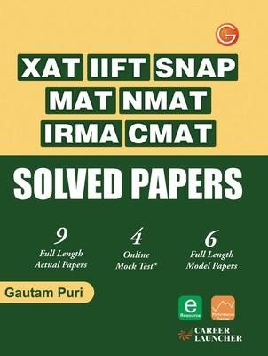 XAT, IIFT, SNAP, MAT, NMAT, IRMA, CMAT Solved Papers (English) by Gautam Puri