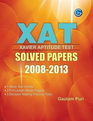 XAT Xavier Aptitude Test: Solved Papers (2008 - 2013) (English) 6th  Edition by Gautam Puri