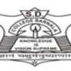 S D College of Education, Barnala