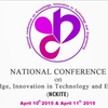 National Conference on Knowledge Innovation in Technology and Engineering NCKITE 2015, Kruti Institute Of Technology And Engineering, April 10-11 2015, Raipur, Chhattisgarh