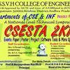 CSESTA 2k15, DMSSVH College of Engineering, February 27 2015, Machilipatnam, Andhra Pradesh