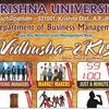 VIDHUSHA 2K15, Krishna University, March 16-17 2015, Machilipatnam, Andhra Pradesh