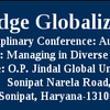 Twelfth Knowledge Globalization Conference, O.P. Jindal Global University, August 13-14 2015, Sonepat, Haryana