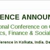 Fourth International Conference on Global Business Economics Finance and Social Sciences, SDM Institute for Management Development, December 18-20 2015, Kolkata, West Bengal