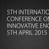 5th International Conference on science and Innovative Engineering ICSIE 2015, Jawahar Engineering College, April 5 2015, Chennai, Tamil Nadu