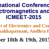 ICMEET 2015, GITAM University, December 18-19 2015, Visakhapatnam, Andhra Pradesh