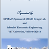 Two Day National Workshop on MEMS And NEMS, VIT University, May 7-8 2015, Vellore, Tamil Nadu