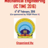 ICTIME 2016, Maulana Azad National Institute of Technology, February 4-6 2016, Bhopal, Madhya Pradesh