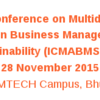 ICMABMS 2015, Birla Institute of Management Technology, November 27-28 2015, Bhubaneswar, Odisha