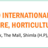 IJTA 2nd International Conference on Agriculture Horticulture And Plant Sciences, Academic Research Journals, December 26-27 2015, Shimla, Himachal Pradesh