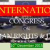 1st International Congress on Human Rights And Duties, Yadam Institute of Research, December 10 2015,  Brahmapur, Odisha