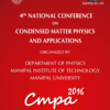 4th National Conference on Condensed Matter Physics and Applications (CMPA 2016), Manipal Institute of Technology (MIT), May 23-24 2016, Manipal, Karnataka