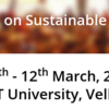 2nd International Conference on Sustainable Energy and Built Environment, VIT University, Mar 10-12, 2016, Vellore, Tamil Nadu
