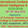 1st International Conference on Computational Intelligence and Informatics -2016 (ICCII-2016), JNTUH College of Engineering, May 28-30, 2016, Hyderabad, Telangana