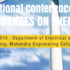 National Conference on Climatic changes on Energy Sector (NCCC-16), Mahendra Engineering College, April 7 2016, Namakkal, Tamil Nadu
