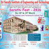 Sarathi Fest 2k16, Sri Sarathi Institute of Engineering and Technology, March 18-19 2016, Krishna, Andhra Pradesh
