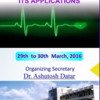 National Workshop on Biomedical Engineering & its Application, Samrat Ashok Technological Institute, March 29-30 2016, Vidisha, Madhya Pradesh