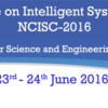National Conference on Intelligent Systems and Communication (NCISC-2016), Anna University, Jun 23-24, 2016, Chennai, Tamil Nadu