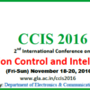 IEEE International Conference on  Communication Control and Intelligent System, GLA University, Nov 18-20, 2016, Mathura, Uttar Pradesh