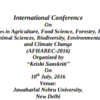 AFHABEC 2016, Jawaharlal Nehru University, July 10 2016, New Delhi, Delhi