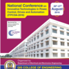 National Conference on Innovative Technologies in Power Control Drives and Automation ( ITPCDA ) 2016, QIS CET, August 26-27 2016, Ongole, Andhra Pradesh