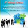 National Seminar on Contemporary Marketing Practices for Excellence in Business Performance 2016, PIM, September 24 2015, Gwalior, Madhya Pradesh