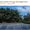 Program for Responsible Energy Management, Auroville, January 16-19 2017, Pondicherry, Puducherry
