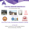 Structural Engineering Convention (SEC) 2016, IIT Madras, December 21-23 2016, Chennai, Tamil Nadu